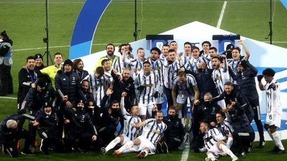 Роналдо стана най-резултатният футболист в историята, Ювентус триумфира със Суперкупата