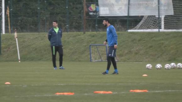 Сулака направи първа тренировка с Левски на хърватска земя