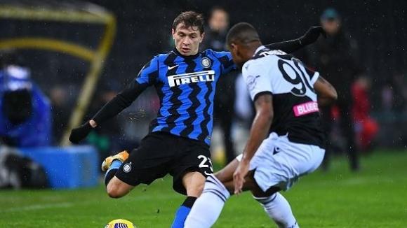 Интер не се възползва от грешната стъпка на Милан