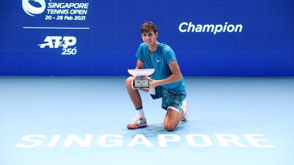 Алексей Попирин с първа титла от ATP