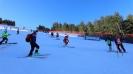 Звездите на ските тренират при приказни условия под връх Тодорка