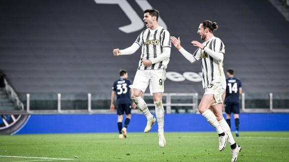 Мората взе диригентската палка в отсъствието на Роналдо и донесе обрат за Юве срещу Лацио
