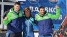 Българите щастливи след успеха в слалома на СП в Банско